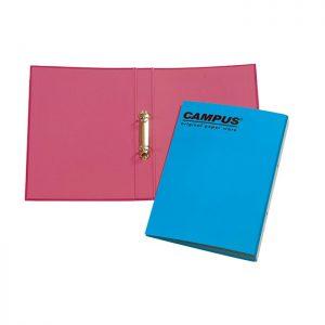 קלסר טבעות קרטון צבעוני CAMPUS